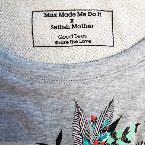 Floral Grey Scoop<br>Max Made Me Do It x SM