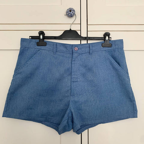 Vintage St Michael (M&S) Blue Shorts (M)