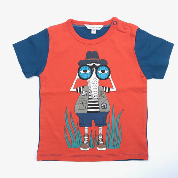 LITTLE MARC JACOBS EXPLORER TSHIRT 18 MONTHS