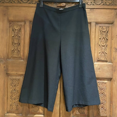 Great Plains black culottes, 14/L