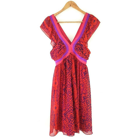 Next Miss N Snakeskin Chiffon Dress 12
