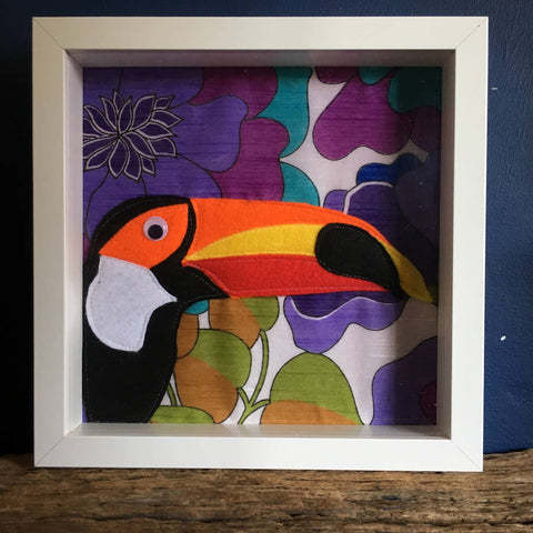 Toucan Felt Wall Art
