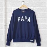 The Navy PAPA Sweatshirt