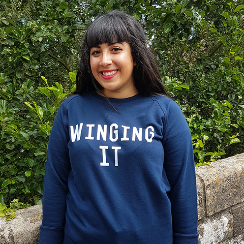 WINGING IT Supersoft <br> NAVY Selfish Mother