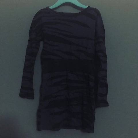 Mini Rodini navy zebra print dress (3 years)