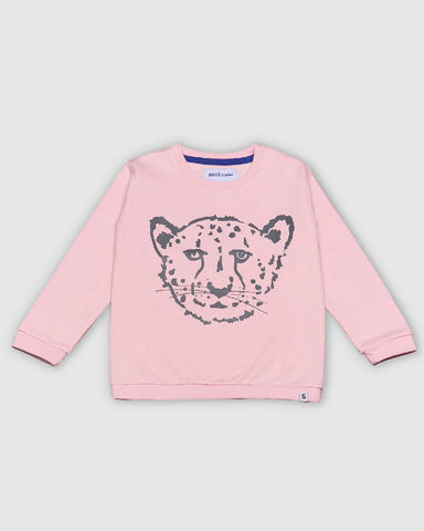 Cheetah Pink Sweater