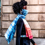 Organic Cotton Climate Stripe Scarf