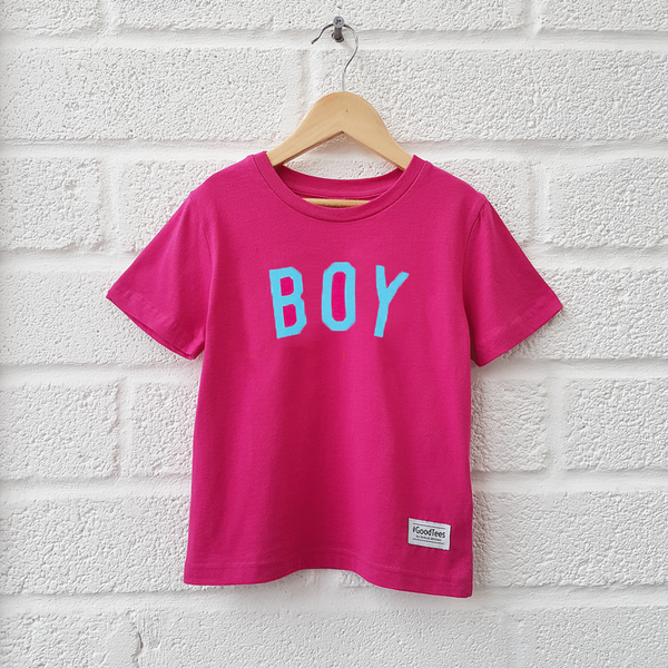 The Pink BOY Tee