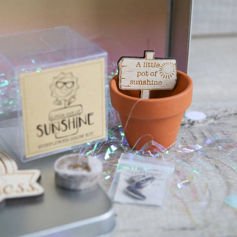 Personalised Little Box of Sunshine & Happiness