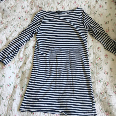 Maternity Topshop Breton Tunic Dress