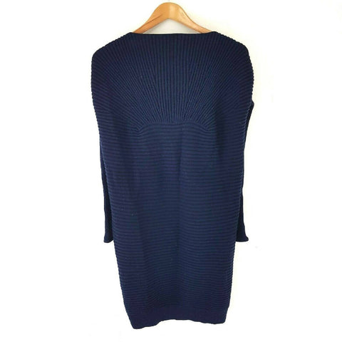 COS Navy Jumper Dress 100% Wool XS