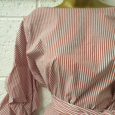 Zara Wrap Shirt Top