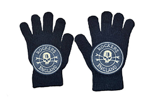 UNISEX Black Gloves Rockers England| PRETTY DISTURBIA
