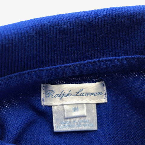 RALPH LAUREN BLUE ALL IN ONE 9 MONTHS