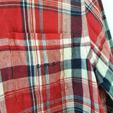 Ralph Lauren Checked Plaid Linen Shirt S/M