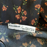 Pull & Bear Ditsy Floral Tea Dress Midi Medium