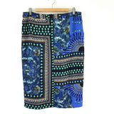 M&S Autograph Midi Pencil Skirt Geometric 14