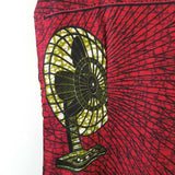 Handmade African Dress Fan Print 10 12