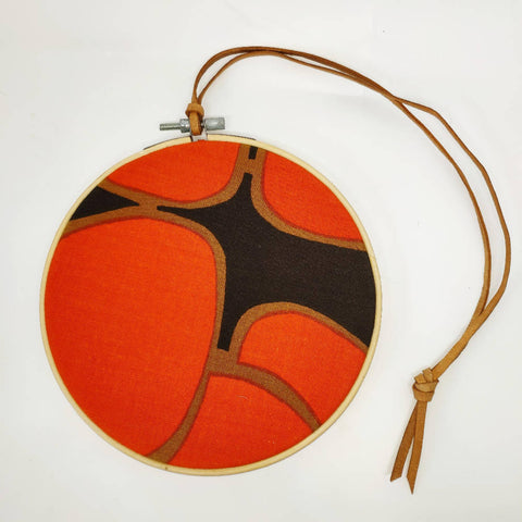 Mid Vintage Fabric Bauble - Kiki