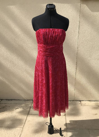 Pink Cocktail Dress Size 10