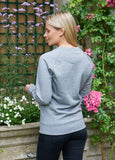 WOMEN'S SUPERSOFT GREY SWEATSHIRT