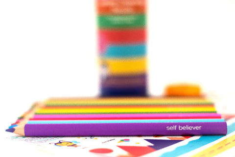 Stib Jumbo Colouring Pencils; Sparking Conversation with Children