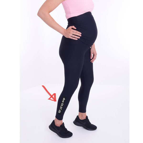 SPORTEE MOMMEE PERSONALISED MATERNITY LEGGINGS