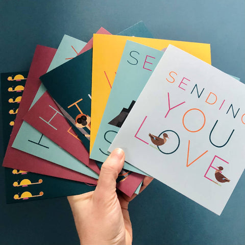 Pack of 8 Thoughtful Greetings Cards