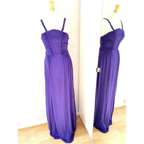NEW French Connection Purple Maxi Dress 10