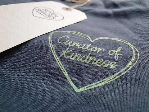 Curator of Kindness Sustainable T-Shirt Green