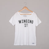 WINGING IT Oversized Tee <br> Selfish Mother