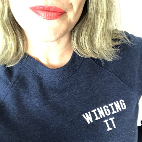 WINGING IT Navy Supersoft<br> Selfish Mother