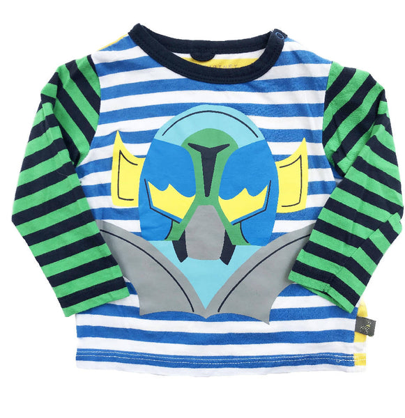 STELLA MCCARTNEY SUPERHERO MASK TOP 6 MONTHS