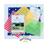 Stib Children's Earthlover Beeswax Wraps; Award Winning Gift, Handmade in Windsor, UK