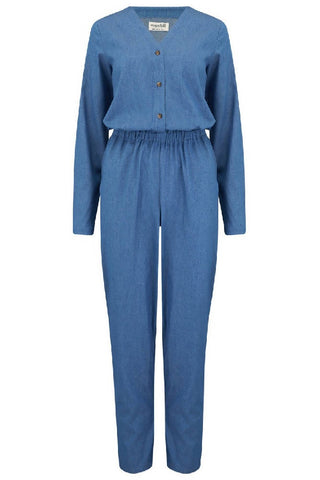 Sugarhill Brighton - Coralie Chambray Jumpsuit
