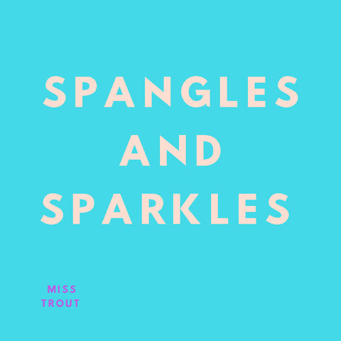 'Spangles And Sparkles' Print
