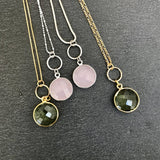 Bezel Necklaces