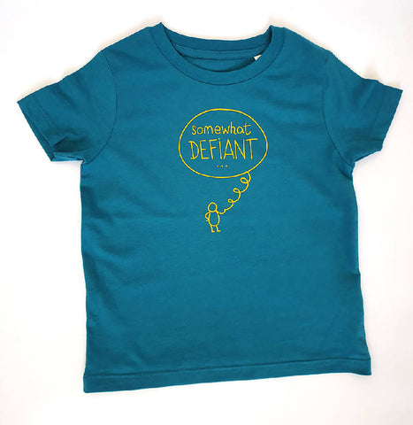 Kids Sustainable Tee - Somewhat Defiant