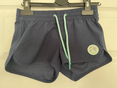 O'Neill girls navy board shorts, age 7-8