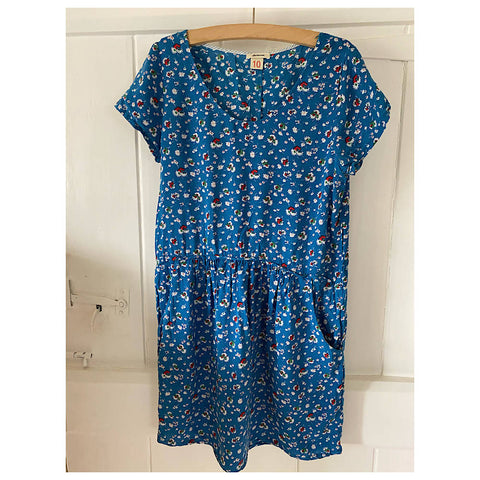 BELLEROSE ditsy flower tea dress Age 8/10