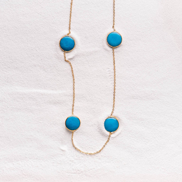 Turquoise Jade Necklace