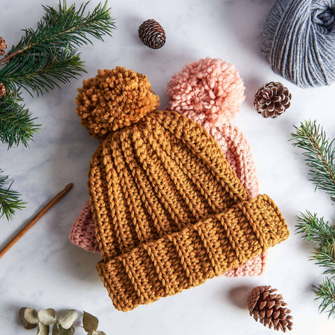 Bobble Hat Crochet Kit