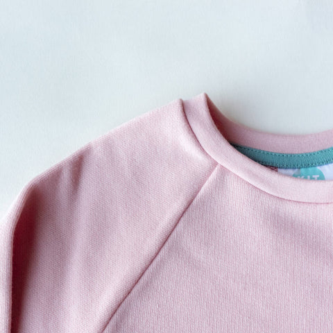 Kids Mix & Match Organic Sweatshirt Blush