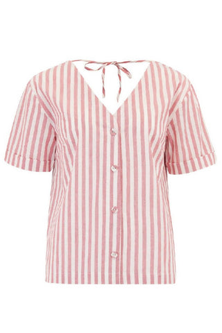Sugarhill Brighton - Petrina Deck Stripe Tie Back Shirt
