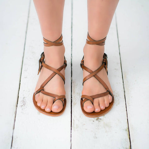 Pasha Living leather sandals