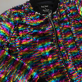FLOWERS BY ZOE SEQUIN EMBELLISHED JACKET 6 YEARS
