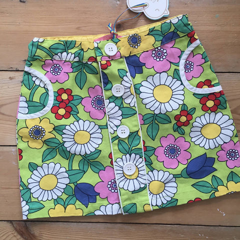 Little Bird floral skirt (3-4 yrs)