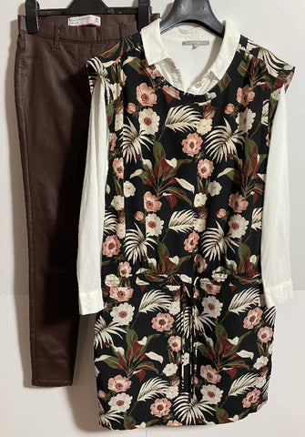 MAISON Scotch floral dress size medium (10-12 fit)