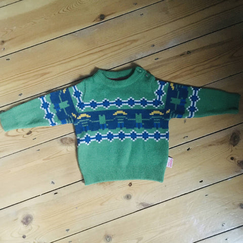 Tootsa Mcginty soft knitted jumper (3-6 months)