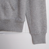 Grey & White PAPA Zip Up Hoody